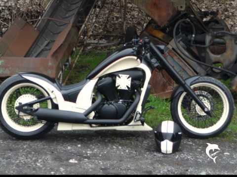 vt 600 custombike thor ii youtube. Black Bedroom Furniture Sets. Home Design Ideas