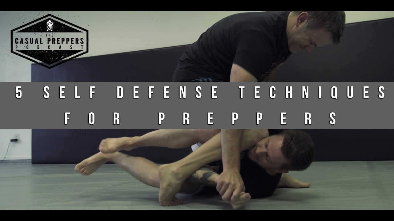 5 Simple Self Defense Techniques for Preppers