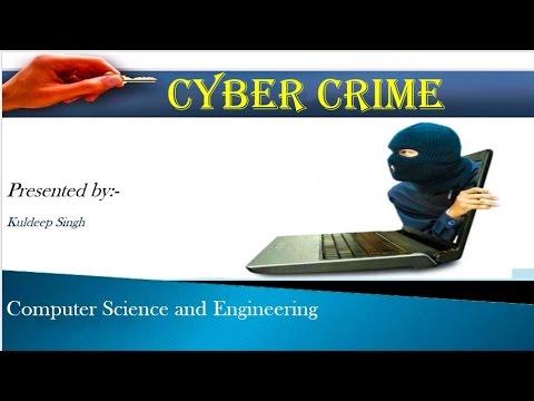 Presentation on Cyber Crime