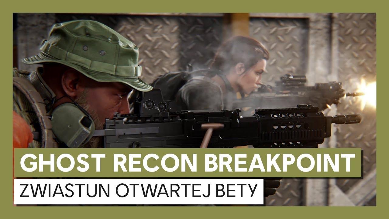 Ghost Recon Breakpoint: zwiastun otwartej bety