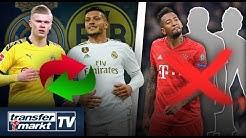 Real will Haaland – Tausch mit Jovic? – Drei Spieler sollen Bayern verlassen!   TRANSFERMARKT