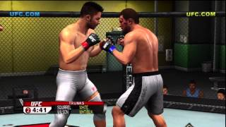 UFC 2009 Undisputed - Career Mode - Gameplay Walkthrough Part 1 - Intro (Xbox 360/PS3) [HD]