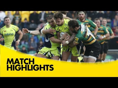 Northampton Saints V Sale Sharks - Aviva Premiership 2015/16
