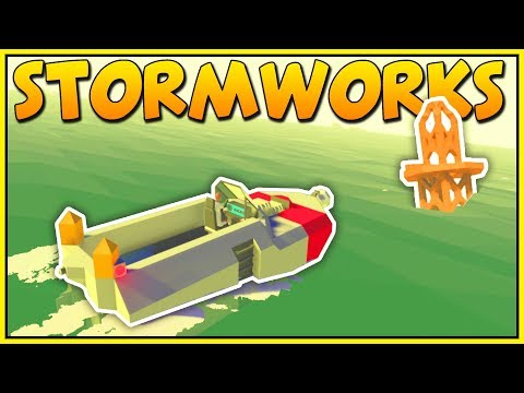 BIG WAVES, BUOYS, AND BUGS - Stormworks: Build and Rescue - Stormworks Gameplay