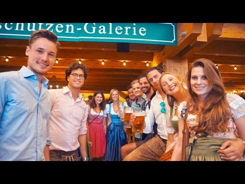 CRAZY DAY AT THE REAL OKTOBERFEST IN MUNICH