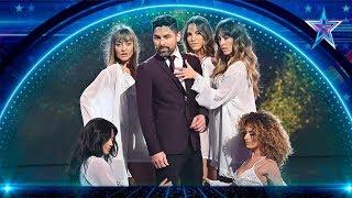 DARÍO PROXIMITY hace MAGIA mientras HUELE al JURADO | Semifinal 1 | Got Talent España 5 (2019)