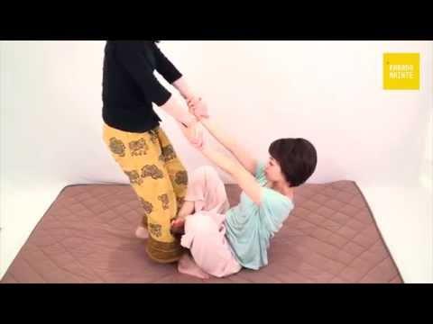 32背部・腰・股関節のストレッチ