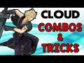Cloud Combos & Tricks! (Smash Wii U/3DS)