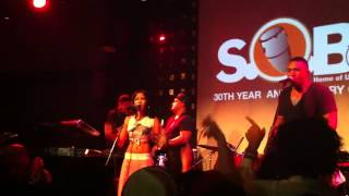 Jhene Aiko performs ' Stranger ' live at SOBs