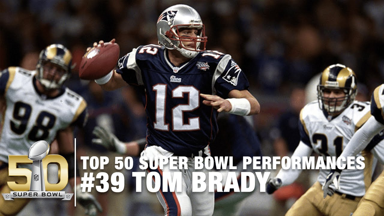 39  Tom Brady s First Super Bowl (XXXVI) Highlights  bed41ef76