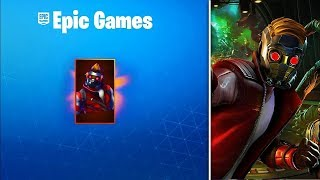 HOW TO HAVE STAR LORD FREE FULL IN FORTNITE!! (GIVE 5 SKINS OF STAR LORD)
