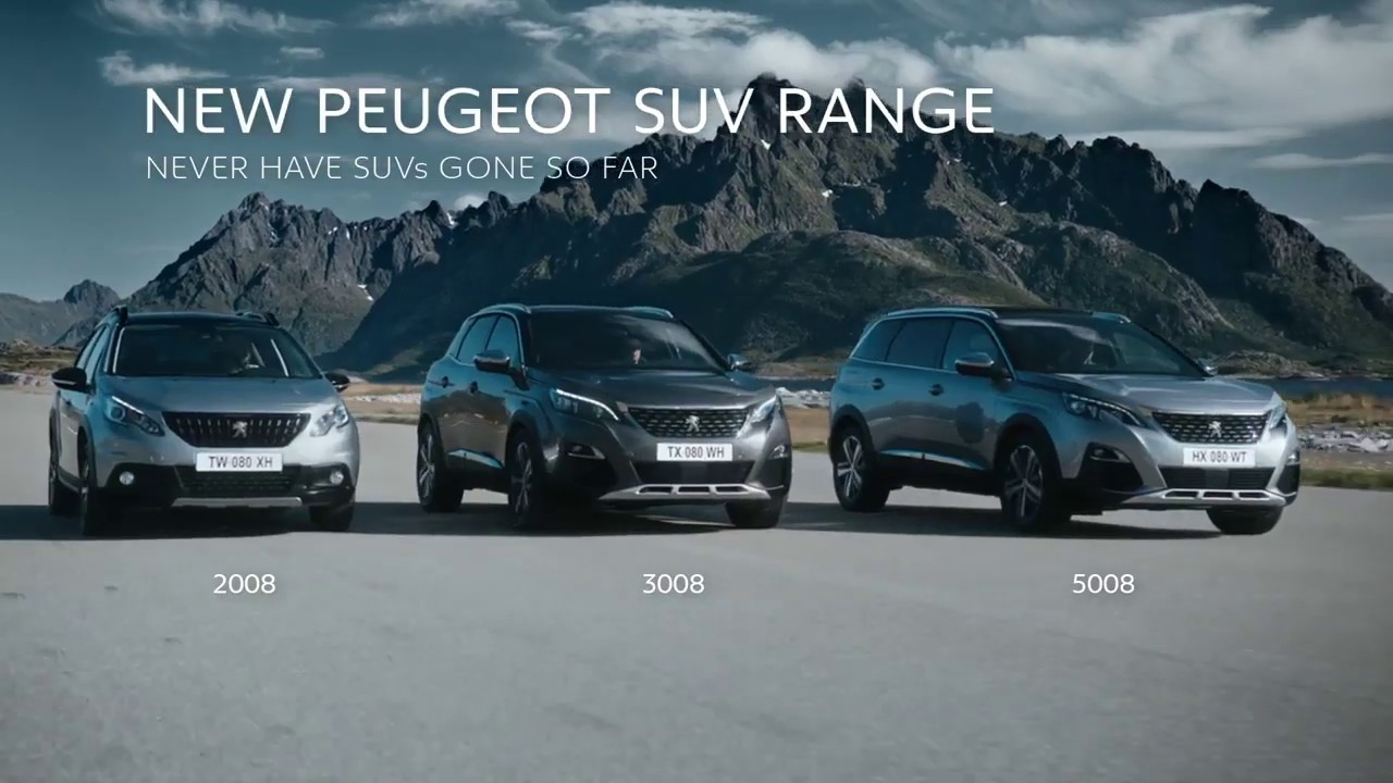 Peugeot SUV Range – Never have SUVs gone so far