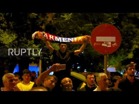 Greece: Protest turns violent on 103rd Armenian Genocide anniv. in Thessaloniki