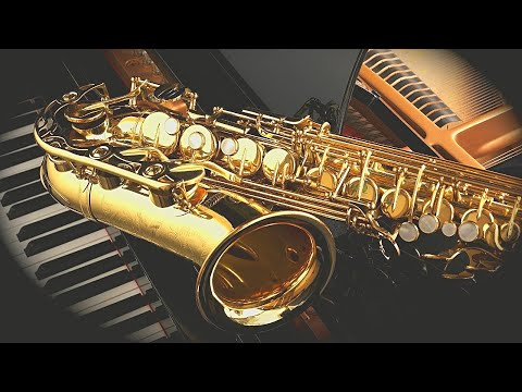 Romantic Relaxing Saxophone Music. Music for Stress Relief, Study