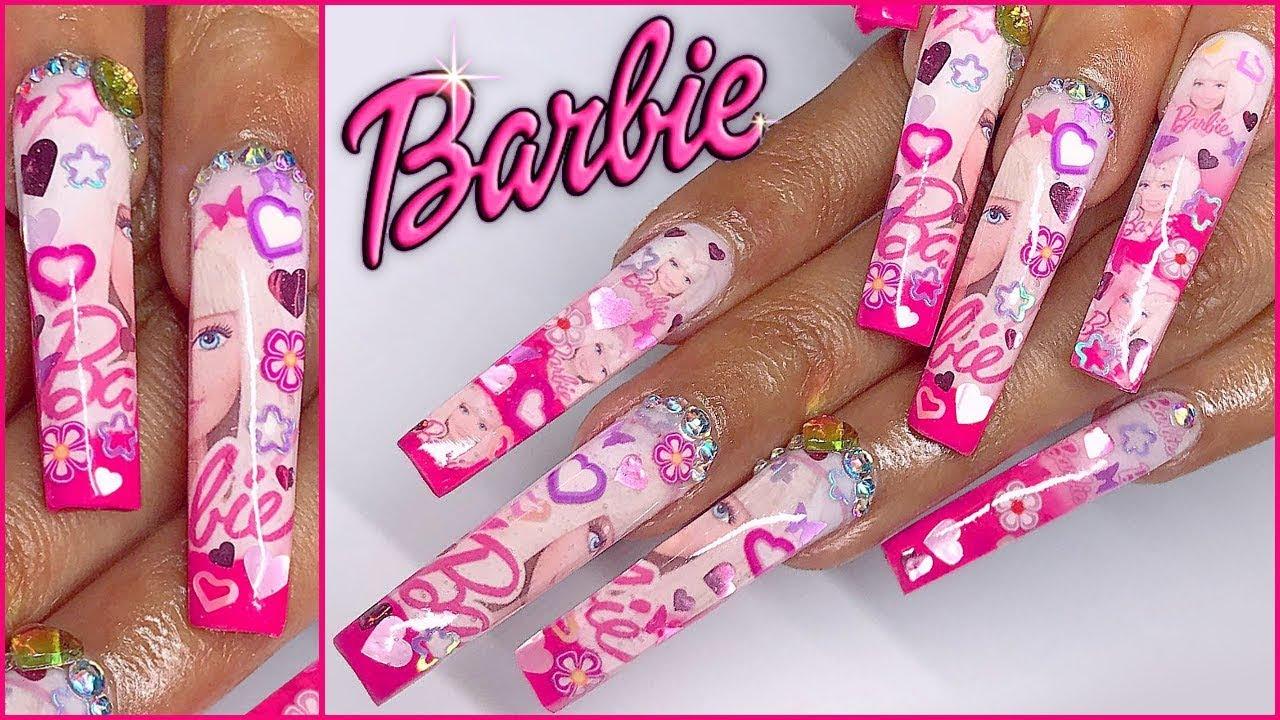 viewers choice barbie nails