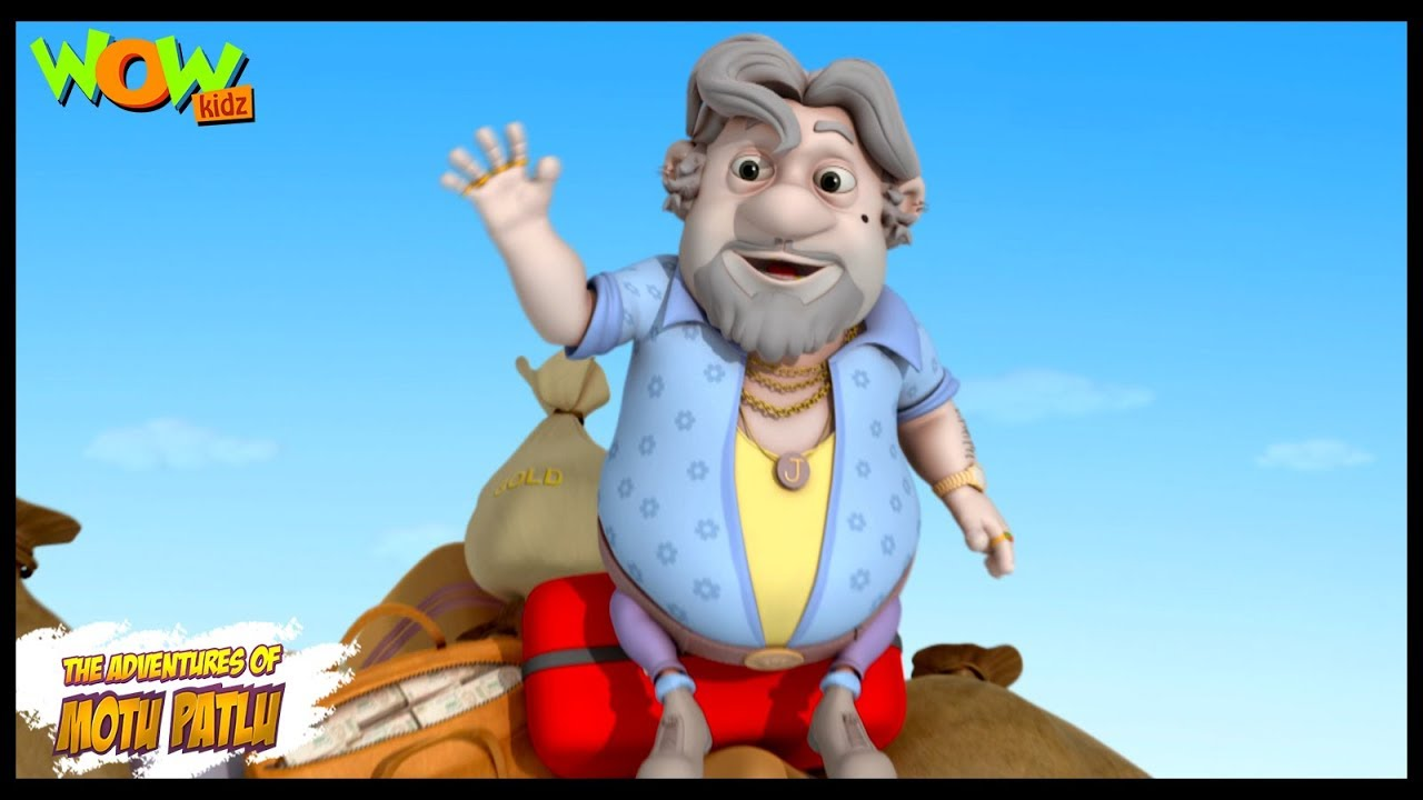 John Ka Bhoot Motu Patlu In Hindi 3d Animation Cartoon For Kids