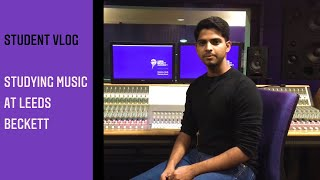 Student Hari speaks about studying music at Leeds Beckett | Student Vlog