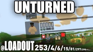 Unturned: How To Use The Loadout Command (Respawn w/ Items) SERVERS ONLY