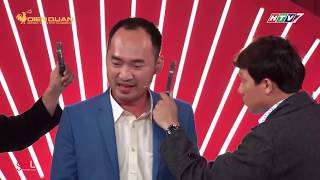 Trường Giang Trấn Thành mở tập đoàn lớn chuyên cắt tóc ở Thách Thức Danh Hài cho những người ít tóc