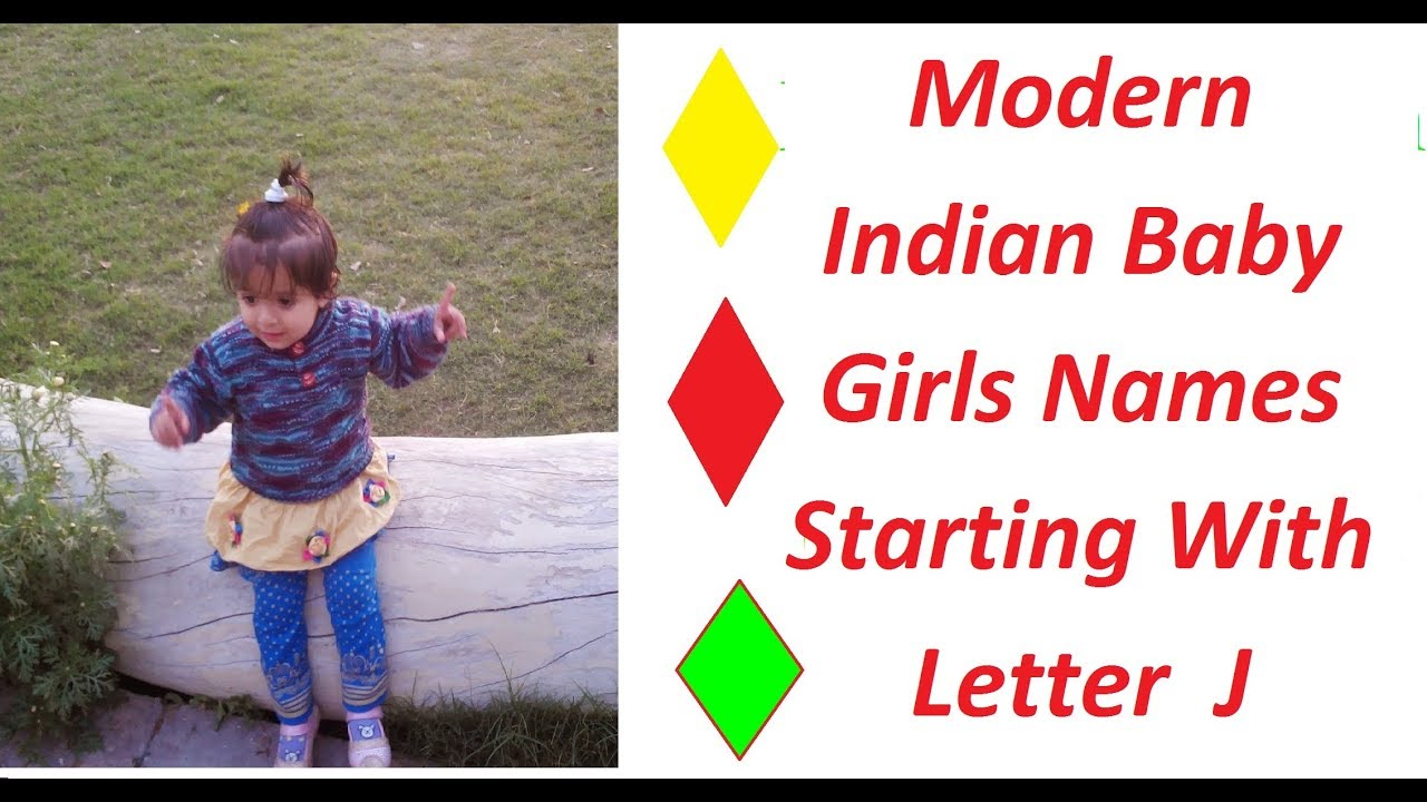 Modern Indian Baby Girls Names Starting With Letter J   YouTube