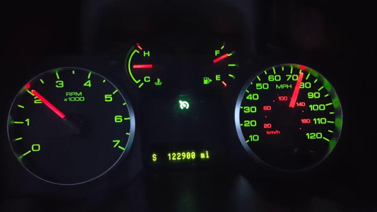 2006 ford 500 interior lights