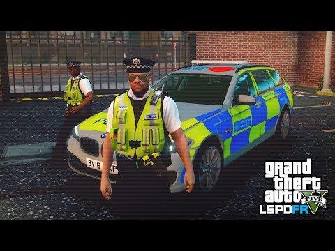 GTA 5 LSPDFR - PURSUIT UNIT PATROL - The British way #98