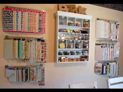 Scrapbooking Storage Decorating Ideas