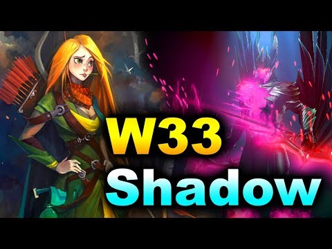 W33 vs SHADOW (MIRACLE- STANDIN) - CHINA PRO PUB DOTA 2