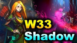 W33 vs SHADOW (MIRACLE- STANDIN) - CHINA PRO PUB DOTA 2