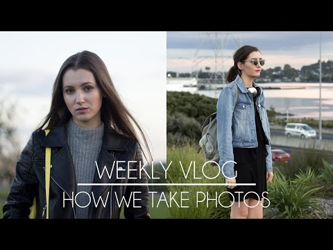 How we take fashion blog photos | Weekly Vlog 18