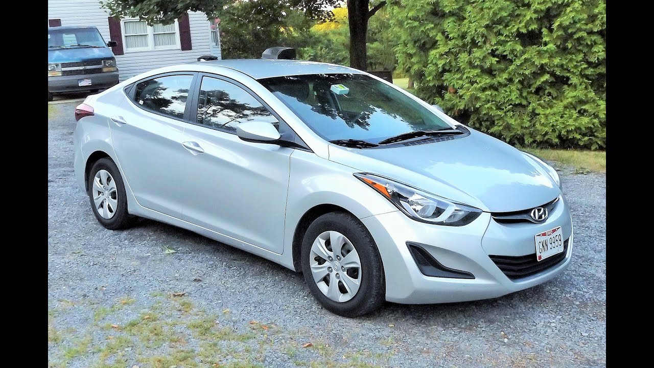 2016 hyundai elantra se start up personal review and full tour youtube. Black Bedroom Furniture Sets. Home Design Ideas