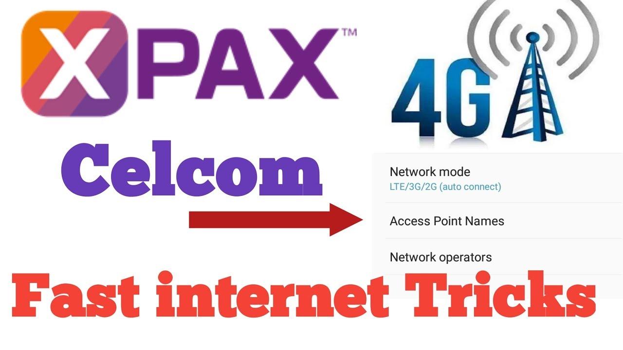 internet speed fast tricks celcom 4g apn setting 2018