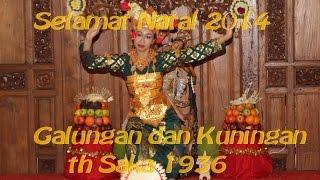 Selamat Natal, Galungan dan Kuningan. Společná oslava Vánoc ala Indonesia v Praze