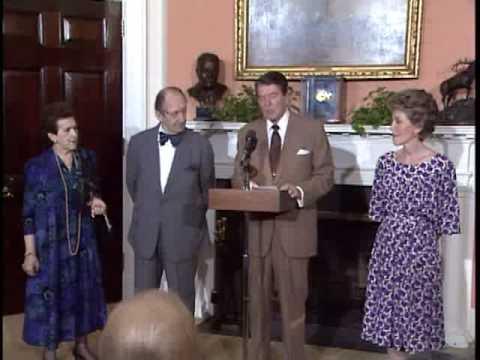 Vladimir Horowitz Receives the Presidential Medal of Freedom