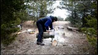 Home Made Chain Saw Mill By Gatter