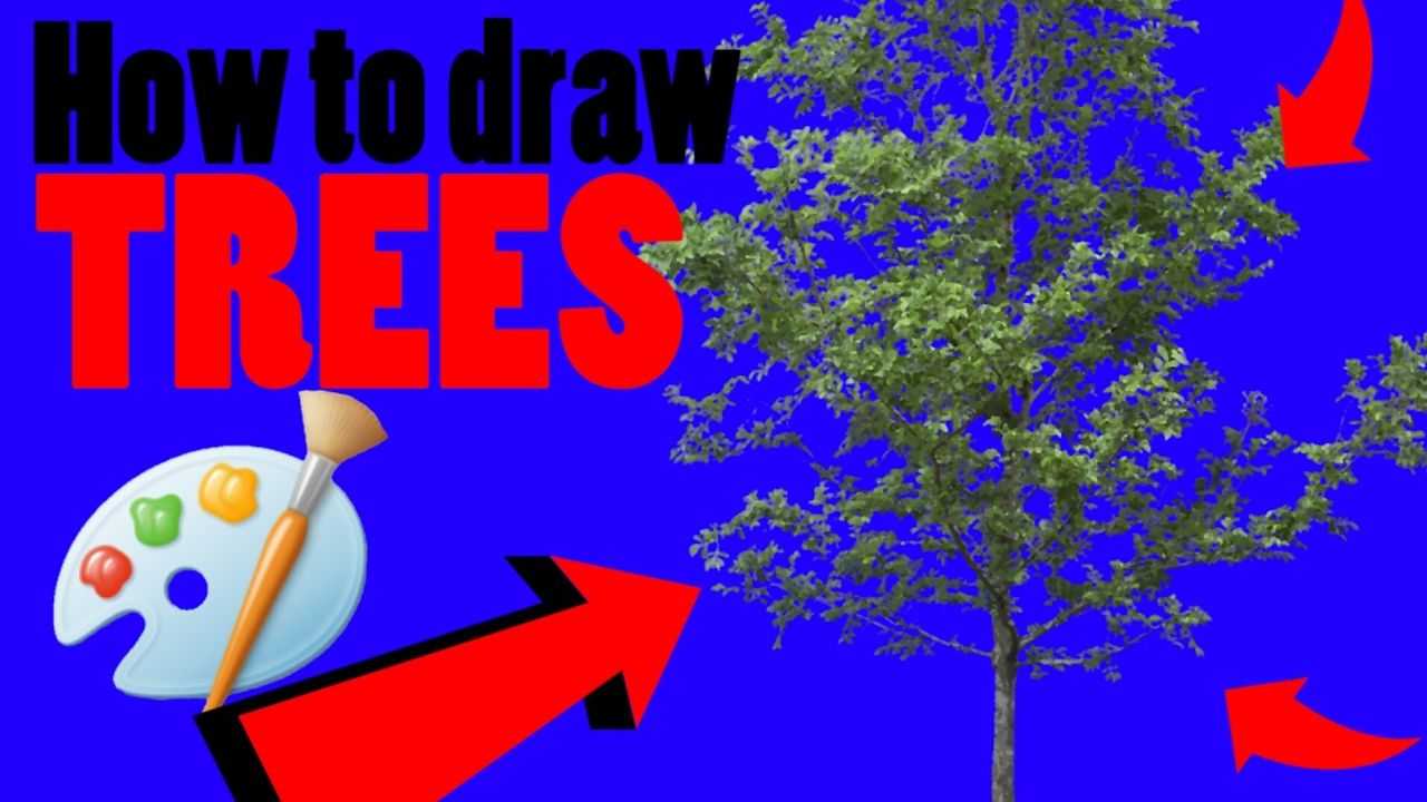 Uncategorized How To Draw A Perfect Tree how to draw a perfect tree ms paint youtube paint