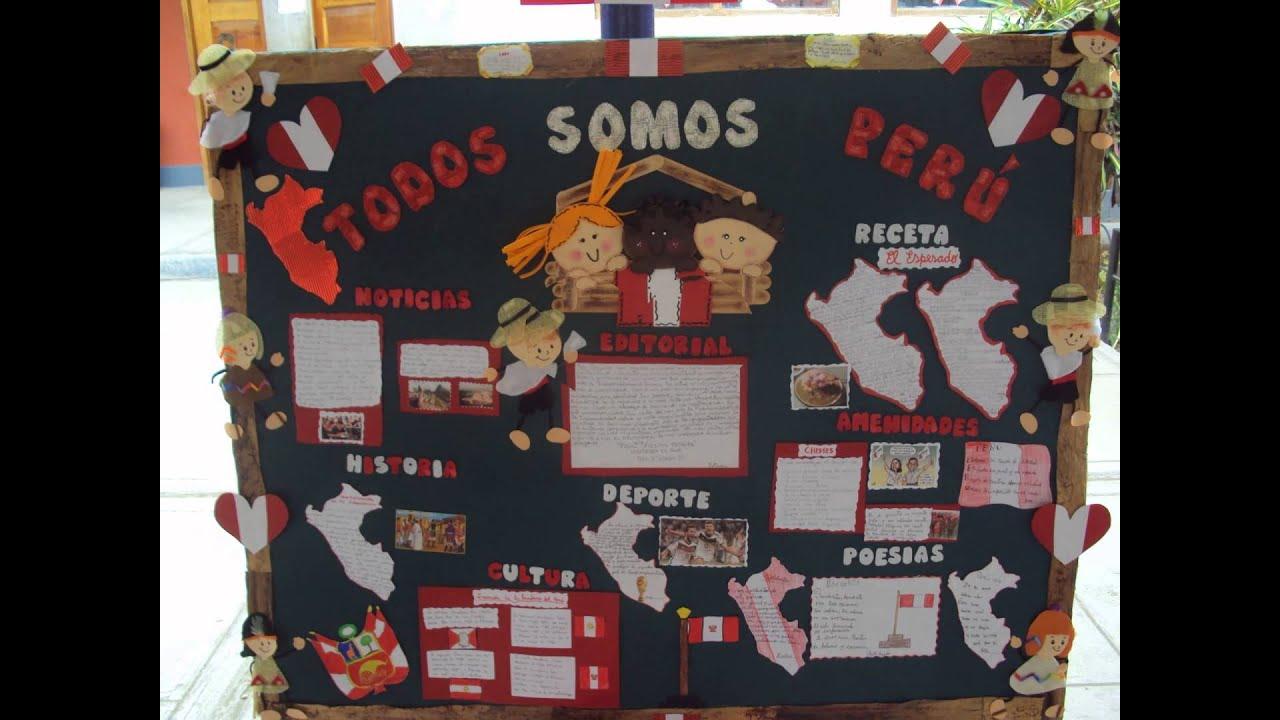 Concurso Periodicos Murales De Fiestas Patriasi E N 10111