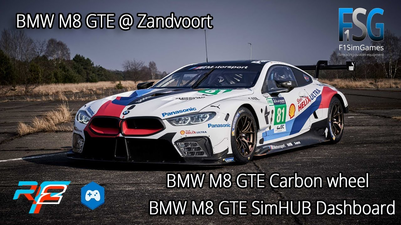 BMW M8 GTE Carbon fiber wheel | Sector3 Studios Forum