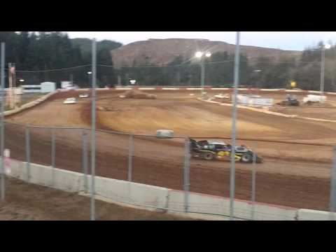 coos bay speedway late model trophy dash 9-3-16
