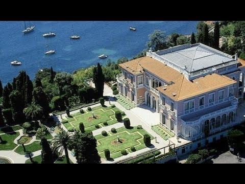 Villa Ephrussi De Rothschild Saint Jean Cap Ferrat C Te D 39 Azur Youtube