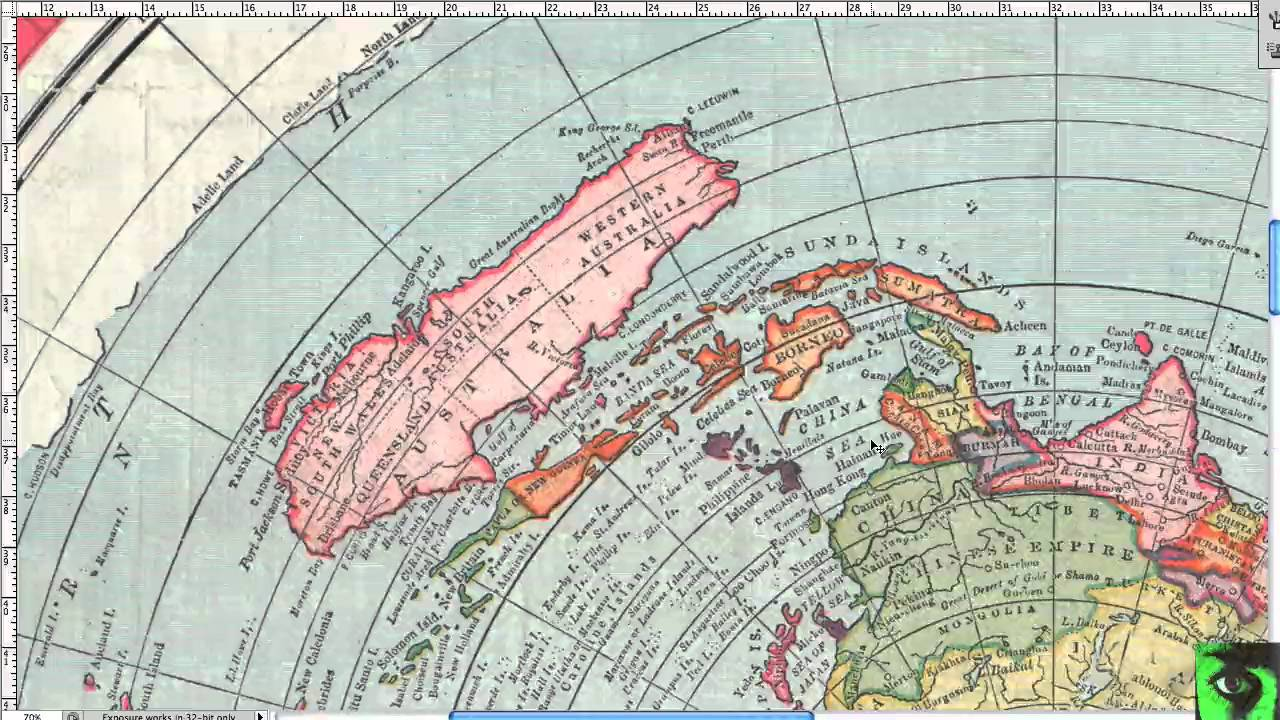 Flat Earth Map Antarctica.Antarctica And 1892 Gleason Flat Earth Map Doesn T Work Youtube