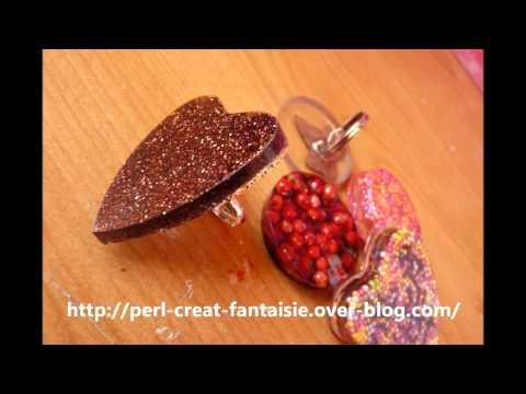 bijoux en résine