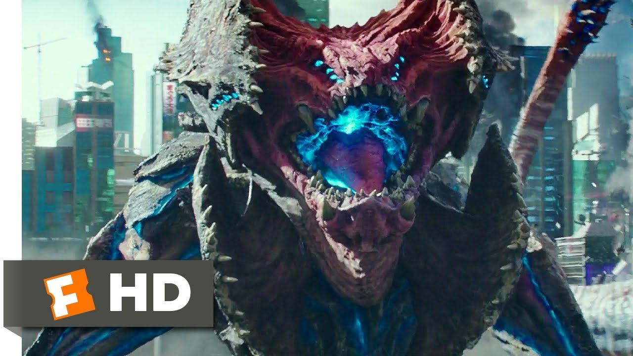 Pacific Rim Uprising (2018) – Giant Monsters Attack Japan Scene (7/10) | Movieclips