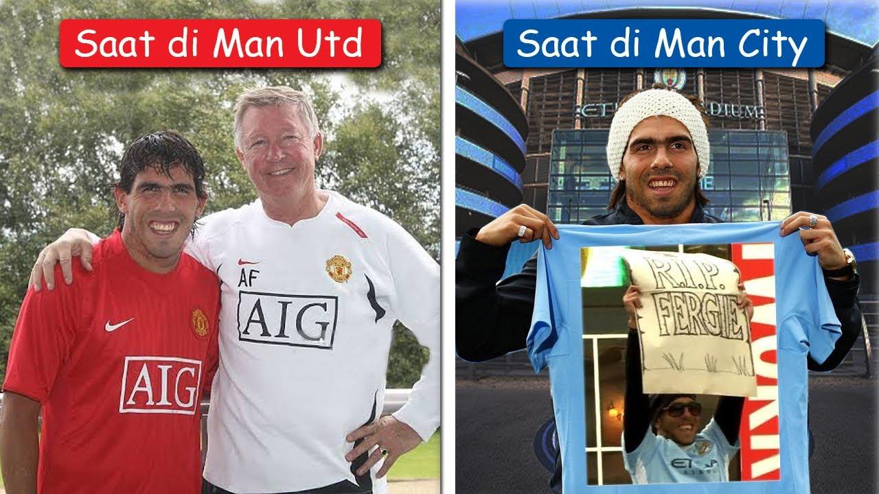 PENGHIANATKAH 6 Pemain Ini Pernah Bermain Untuk Manchester United Dan Man City