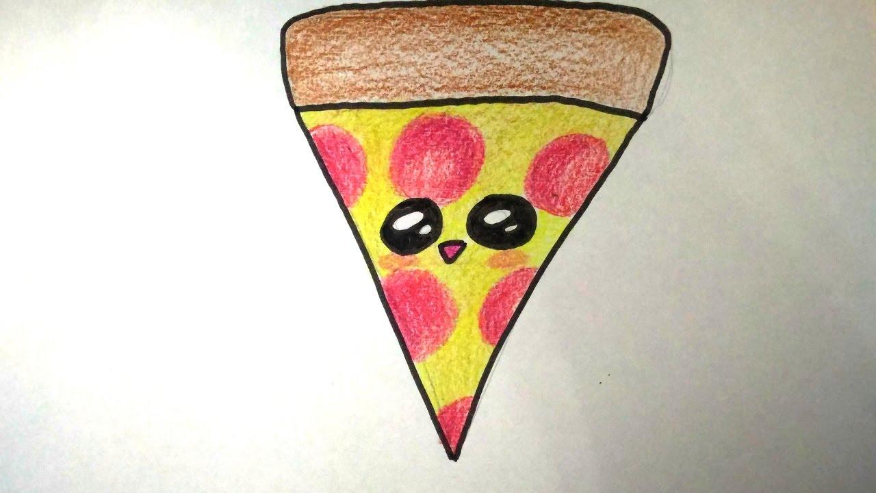 Desenhos Tumblr De Mão Estalando Como Fazer: DESENHOS FACEIS DE FAZER COMO DESENHAR UMA FATIA DE PIZZA