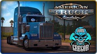 "American Truck Simulator  Выполнение задания от World of Trucks ""ЭКСПЛУАТАЦИЯ BIG SUR"""
