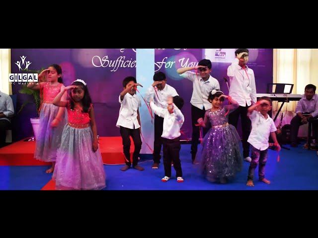 'Let's get a little crazy' | Sunday School Action Song | Gilgal IPC Madiwala Bengaluru