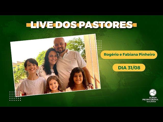 Live dos Pastores - 31.08.2021 - 19h