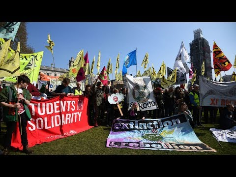 Climate Extremists Shut Down London