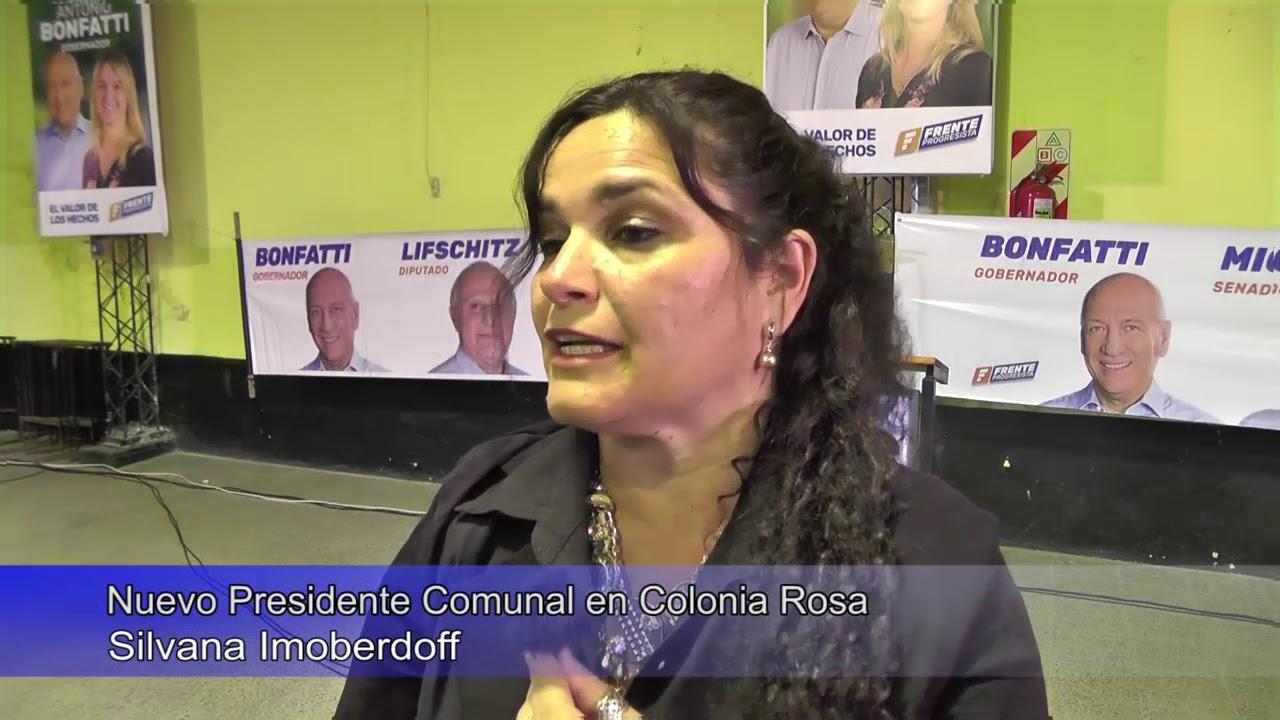 Nuevo Presidente Comunal en Colonia Rosa edit